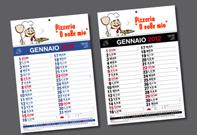 serigrafia - calendari
